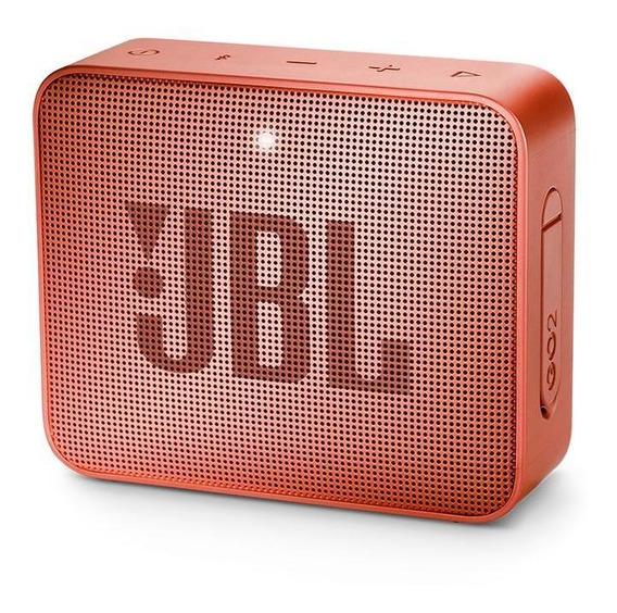 Parlante Jbl Go 2 Portable Bluetooth Resistencia Ipx7 Canela