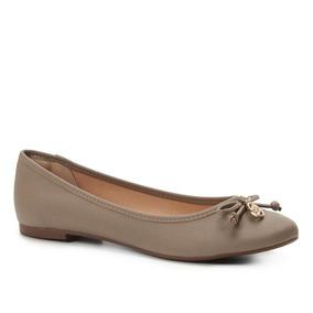 b3cb57881f Sapatilha Shoestock Bico Redondo Medalha Feminina