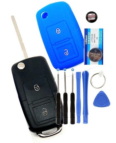 Imagen 1 de 6 de Carcasa Llave Control Seat Ibiza Cordoba Leon Toledo 2 Boton