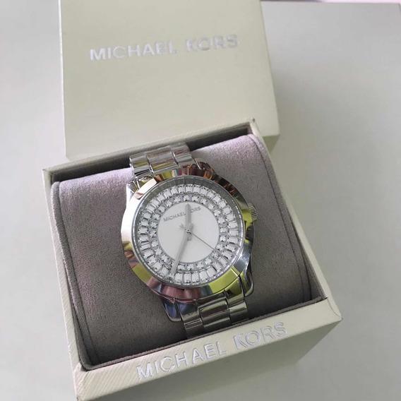Relógio Feminino Michael Kors Com Strass Original