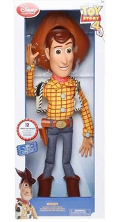 Woody Toy Story 4 Parlante Ingles Original Disney Collection