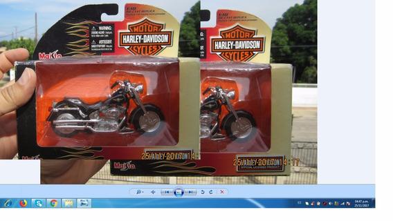 Motos De Colección Harley-davidson Escala 1:18