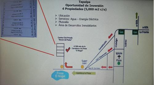 Imagen 1 de 6 de Terreno Rústico En Tapalpa, Jalisco