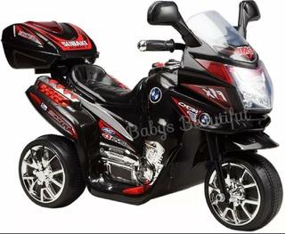 Moto Electrica Bebes Niños 1-5 Años Luces Sonidos Recargable