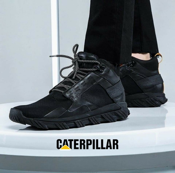 Zapatillas Botitas Hombre Cuero Premium Caterpillar