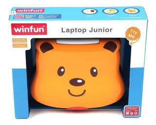 Computadora Laptop Para Chicos Nena Aprender Y Jugar
