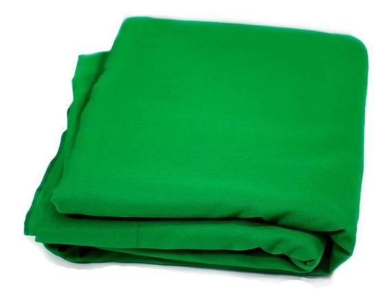 Fundo Infinito Chroma Key Tecido Verde 3x5m Para Vídeo
