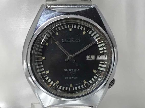 Relógio Citizen Custom V2 23 Jewels Cal. 7290 Relogiodovovô.