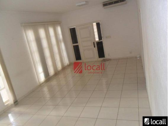 Casa Comercial Para Locação, Centro, São José Do Rio Preto. - Ca0021