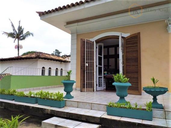 Magnifica Casa Com Arquitetura Clássica À Venda No Morumbi. - So0068