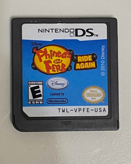 Phineas And Ferb - Ride Again Nintendo Ds