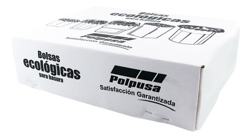Polpusa Basura Eco. Bco.ad 45x48cm Cal 45 (65rollo/25bolsas)