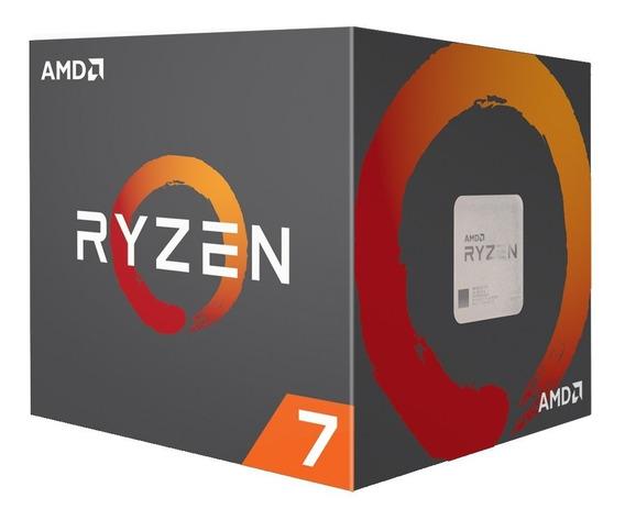 Micro Procesador Amd Ryzen 7 2700 4.1 Ghz Tienda Oficial