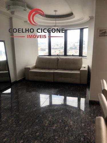 Imagem 1 de 15 de Apartamento Em Vila Antonieta - Sao Paulo - V-3829