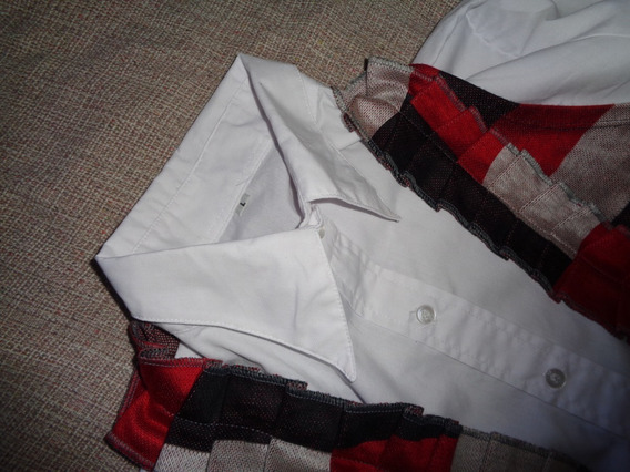 Camisa Blanca + Chaleco Ideal Oficina Trabajo