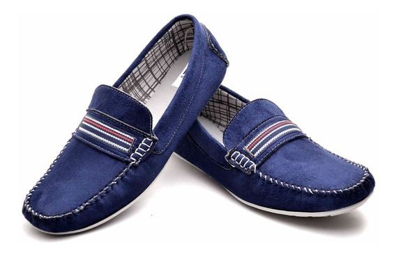 Sapato Mocassim Masculino Couro Confort Social 9 Modelos M02