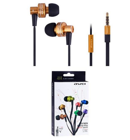 Headphone Fone De Ouvido Intra-auricular Awei Es900i