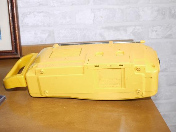 Sony Toca Fitas Cassete Cfm-160 Amarelo Sports Walkman