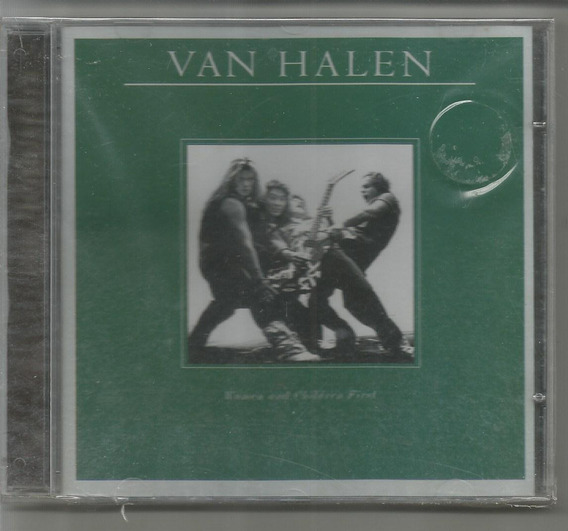 Van Halen - Women And Children First - Cd Novo+2.000 Cd