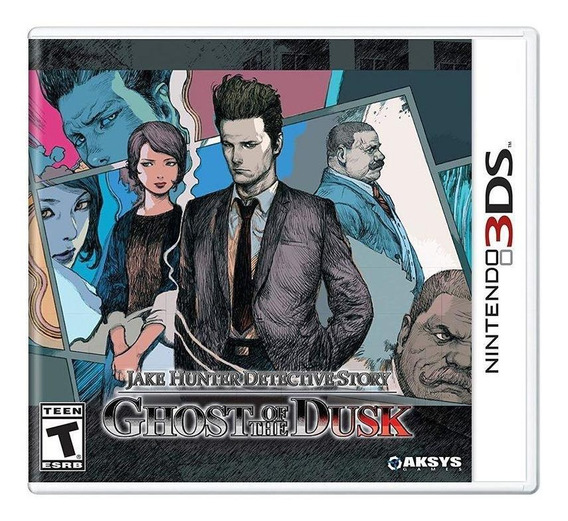 Jake Hunter Detective Story Ghost Of The Dusk 3ds Física