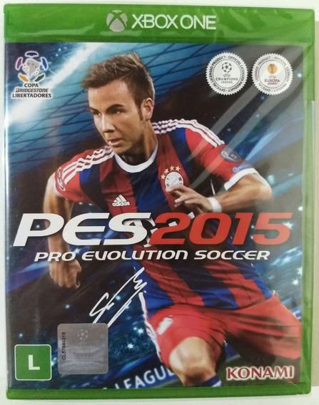 Jogo Pro Evolution Soccer 2015 Xbox One - Mídia Física Novo