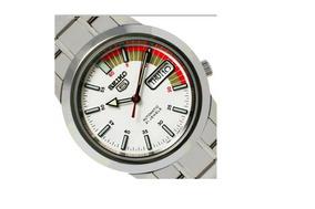Relógio Aço Inoxidável Seiko Snkk 5 25k1 Automático Data Dia