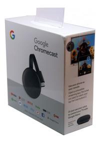 Chromecast 3 Full Hd 1080p Hdmi Original 1 Ano Garantia + Nf