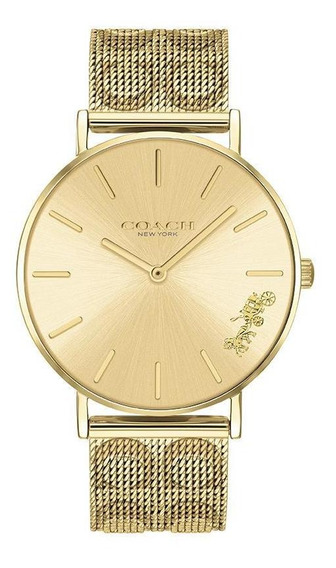 Reloj Coach Dama Color Dorado 14503342 - S007