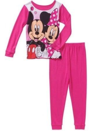 Pijama Blusa Pantalón Minnie Disney Talla 5 Años