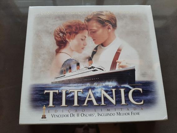 R$ 220 Box Titanic Ed. Limitada - 2 Vhs + 8 Fotos + Películ