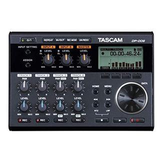 Tascam Dp-006 Grabador Digital Multipista De Portastudio