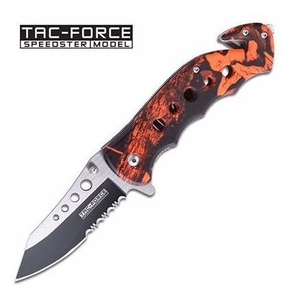 Navaja Tactica Tac Force Tf-498rc Dogohunter