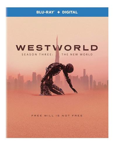 Blu-ray Westworld Season 3 / Temporada 3