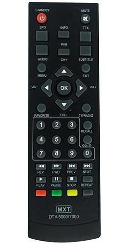 Controle Remoto Para Conversor Digital Aquário Dvt 5000 700