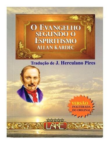 O Evangelho Segundo O  Espiritismo /23cm X 16cm Letra Grande