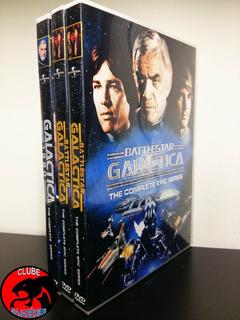 Galáctica 1978 E 1980 - Série Completa