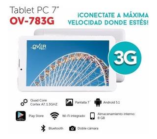 Tablet Overtech 7 Pulgadas Ov783g 3g Alpha S.i
