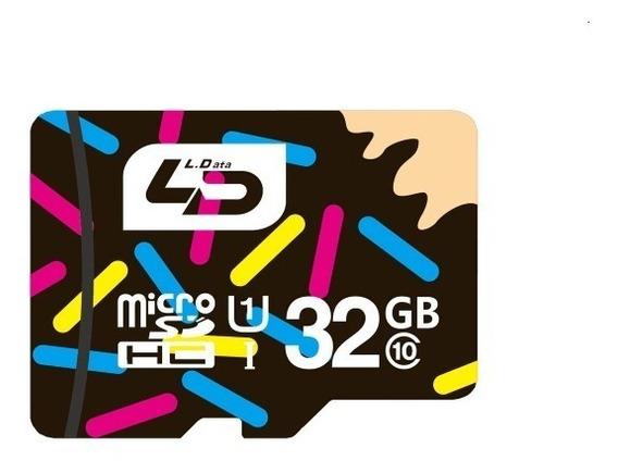 Cartão De Memoria Micro Sdhc 32gb Da Ld Classe 10 Original