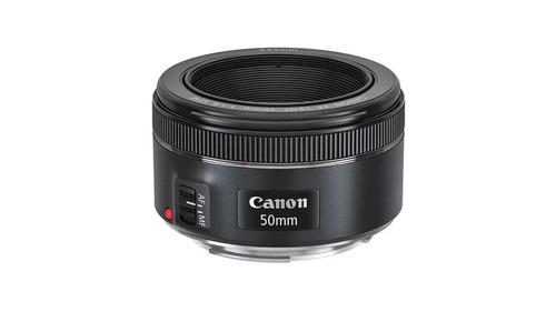 Lente Estandar Fijo Ef Canon 50mm F/1.8 Stm Envio Full Fac A