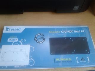Soporte Cpu Nuc Mini Pc,intelaid,mod.:it-bbs7,c/kit Instalac
