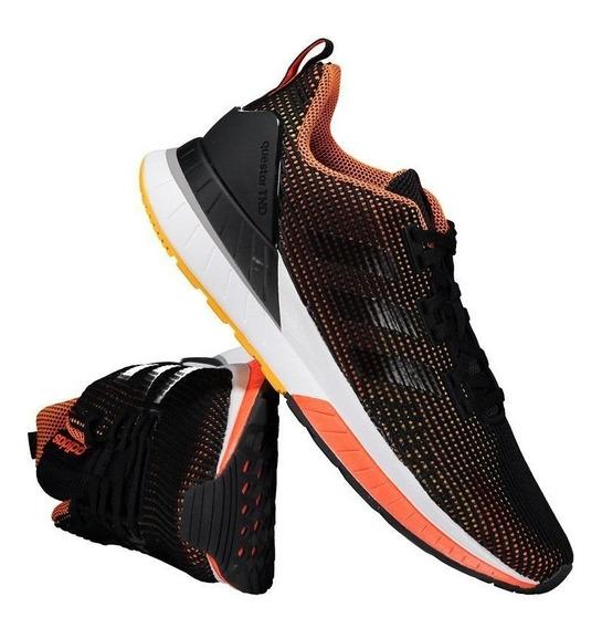 Tênis adidas Questar Tnd Preto E Laranja 10379 Original