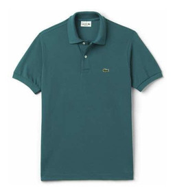 Polo Lacoste L1212 Classic Fit Color Emerald Nueva Temporada