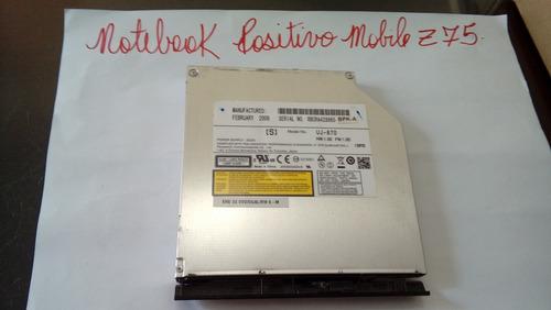 Gravador Dvd/cd Para Notebook Positivo Mobile Z75