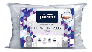 Almohada Piero Comfort Firme 70x50 Microesferas Siliconadas.