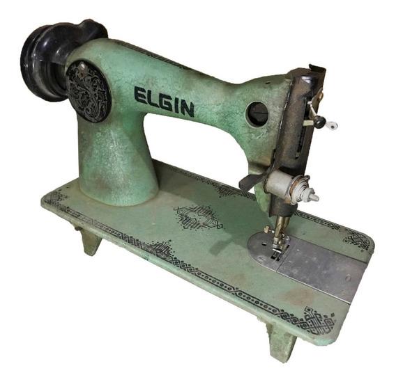 Máquina De Costura Antiga (elgin)