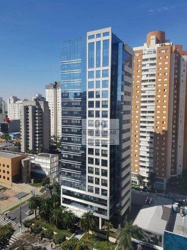Imagem 1 de 11 de Platinum Tower Ibirapuera, Na Av. Ibirapuera. 395m² De Área, 8 Vagas. Recepção, 4 Elevadores E Gerador. - Lj0004