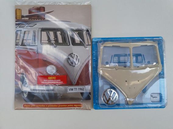 Salvat Fascículo Número 01 Volkswagen Samba Bus 1962