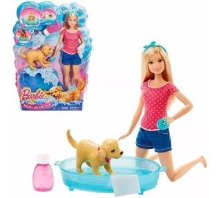 Barbie Baño De Perritos Original Mattel Palermo
