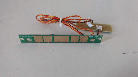 Placa Sensor Monitor Positivo Smile Light 563 + Led Frontal