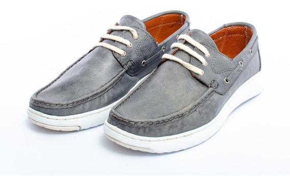 Zapatos Nautico Acordonado Legacy Cuero Hombre Lg8740